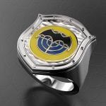 Серебряный перстень СПЕЦНАЗ ГРУ (серебро 925 пробы)