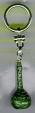 БРЕЛОК ТЫКВА зеленая длинная   PC1683