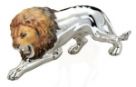 Статуэтка Лев большой серебро ST264