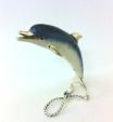 Дельфин серебро с эмалью ST160