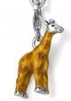 Подвеска Жираф серебро с эмалью CSM51