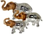 Три Слона серебро ST144