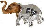 Слон большой серебро ST144-1