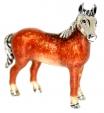 Лошадь средняя серебро ST180-2