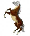 Лошадь серебро с эмалью ST233-1