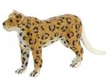 Леопард серебро с эмалью ST545