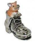 Статуэтка Свинка в ботинке ST625