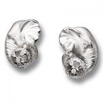 Серьги из серебра СЛОНЫ С-25034