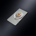 Зажим для денег ФСБ РОССИИ (эмблема из серебра)