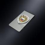 Зажим для денег ФСО РОССИИ (эмблема из серебра)