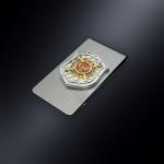 Зажим для денег МВД РОССИИ (эмблема из серебра)