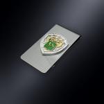 Зажим для денег ФТС РОССИИ (эмблема из серебра)