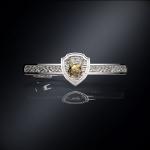 Серебряный зажим для галстука РЫСЬ РОССИИ (серебро 925 пробы)
