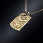 Золотой жетон ВДВ РОССИИ