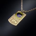 Золотой жетон СПЕЦНАЗ ГРУ