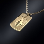 Золотой жетон ЦСН АЛЬФА
