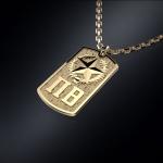 Золотой жетон ПОГРАНЦЫ