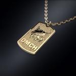 Золотой жетон РЫСЬ