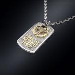 Серебряный жетон ВДВ РОССИИ (серебро 925 пробы)