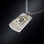 Серебряный жетон СК РОССИИ (серебро 925 пробы)