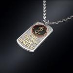 Серебряный жетон МОРПЕХ (серебро 925 пробы)