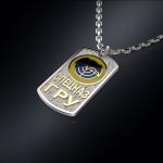 Серебряный жетон СПЕЦНАЗ ГРУ (серебро 925 пробы)