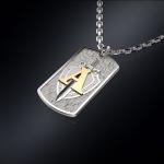 Серебряный жетон ЦСН АЛЬФА (серебро 925 пробы)