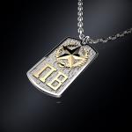 Серебряный жетон Погранвойска КГБ СССР (серебро 925 пробы)