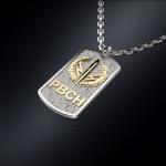 Серебряный жетон РВСН РОССИИ (серебро 925 пробы)