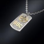 Серебряный жетон ВВС РОССИИ(серебро 925 пробы)