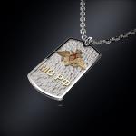 Серебряный жетон Министерство Обороны РОССИИ (серебро 925 пробы)