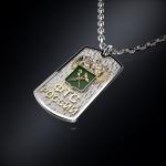Серебряный жетон ФТС РОССИИ (серебро 925 пробы)