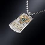 Серебряный жетон Прокуратура РОССИИ (серебро 925 пробы)