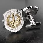 Серебряные запонки РВСН РОССИИ (серебро 925 пробы)