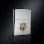 Зажигалка ФСО РОССИИ эмблема из серебра