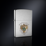 Зажигалка Прокуратура РОССИИ эмблема из серебра
