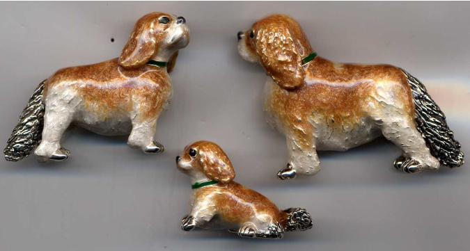 Статуэтка собаки породы Спаниель